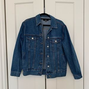 Misguided Oversized Denim Jacket